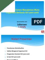 Standardisasi ISO 01102016