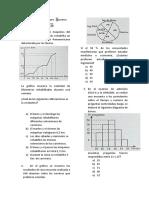 Estadística Preguntas Examen de Admision