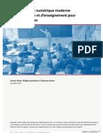 Etude Pascal Sieber&Partners - Environnement numérique moderne d'apprentissage et d'enseignement pour les écoles suisses (nov.2017)