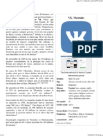 Vkontakte - Wikipedia, La Enciclopedia Libre