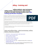 Sales and Selling (BEST)