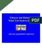 NewMexico_Tobacco and Diabetes