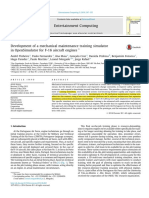 Development of a Mechanical Maintenance Training Simulator 2014 Entertainmen