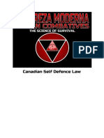 Canadian Self Defence Law