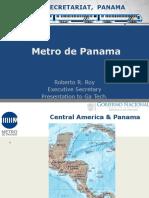 Metro de Panama Summary Gt