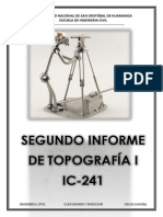 2do Informe Cartaboneo y Medicion