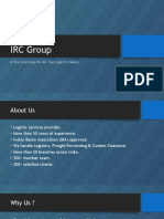 IRC Group Company Presentation