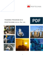 Pruftechnik Training Courses Calendar 2012[1]
