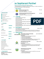 CV, Cover Letter, English