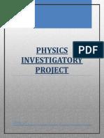 329251105 Investigatory Project Tangent Galvanometer Docx(1)