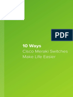 Meraki Switch 10 Ways