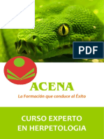 Experto en Herpetología