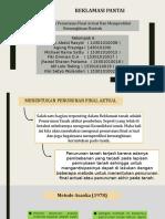 Menentukan Penurunan Final Actual Dan Memprediksi Kemungkinan Runtuh.pptx