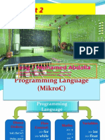 Lec (1) Part (2) Introduction to Micro c Programming
