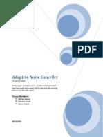 Adaptive Noise Canceller