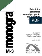 Principios Generales Para El Proyecto de Detalles de Armado