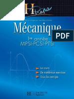 Mécanique MPSI-PCSI