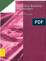 Halkin Sirtindan Kazanc - Noam Chomsky.pdf