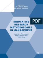 Innovative Research Methodologies in Management 2018