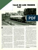 Ultimo Viaje de Los Trenes TAF
