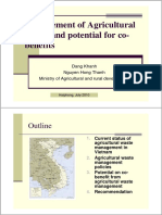 25-Ministry of Agricultural and rural development, Vietnam Management of Agricultural Waste and potential for co-benefits.pdf