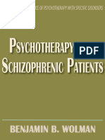 Psychotherapy With Schizophrenic Patients