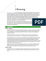 17 Funding and Financing