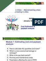 Cost Estimates & Payback Analysis