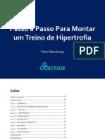 Treino de Hipertrofia