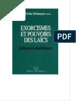 Exorcisme Et Pouvoirs Des Laics