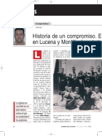 Historia de Un Compromiso. El Nacionalcatolicismo en Lucena y Montilla..