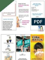 Leaflet Etika Batuk