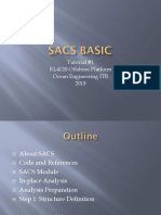 Tutorial 1 SACS