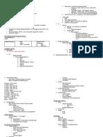 Paediatric Clerking Sheet