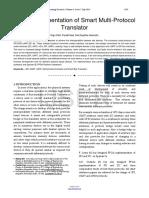 FPGA Implementation of Smart Multi Protocol Translator