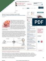 How to configure Remote Desktop in Windows Server 2008 — BizTech Magazine