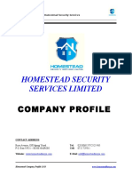 Homestead Company Profile
