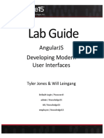 AngularJS Lab Guide
