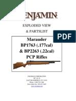 2017 Marauder Air Rifle Schematic