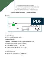 Correction  Serie  N° 1 exercices pompes et compresseurs