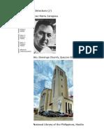 FILIPINO Architecture-Modern Jose Maria Zaragosa