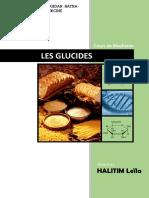 Biochimie Structurale Des Glucides ( Dr. Halitim ) v 2014-2015