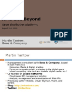APIs and Beyond - Open Distribution Platforms
