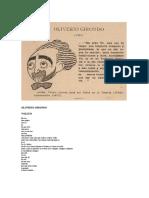 OLIVERIO GIRONDO. Textos. Espantapájaros y otros