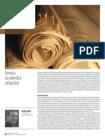 "Josep Boira, ""Jesús, La Piedra Angular"" (Revista ""Palabra"" Julio-Agosto 2017 , Pág 86-87)"