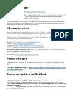 Guia Para Clickbank y Big Ads