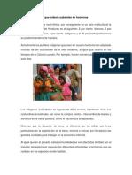 Las Etnias Indígenas Que Todavía Subsisten en Honduras