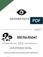 Eye Presentation