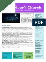 st saviours newsletter - 24 dec 2017