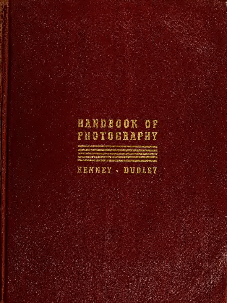Hand Book Of Photography Camera Lens Home Audio Distribution System I1000m Literature Wiring Diagram